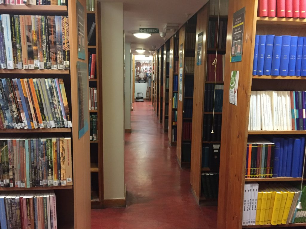 Diary, 15/01/18 — Library, library, library