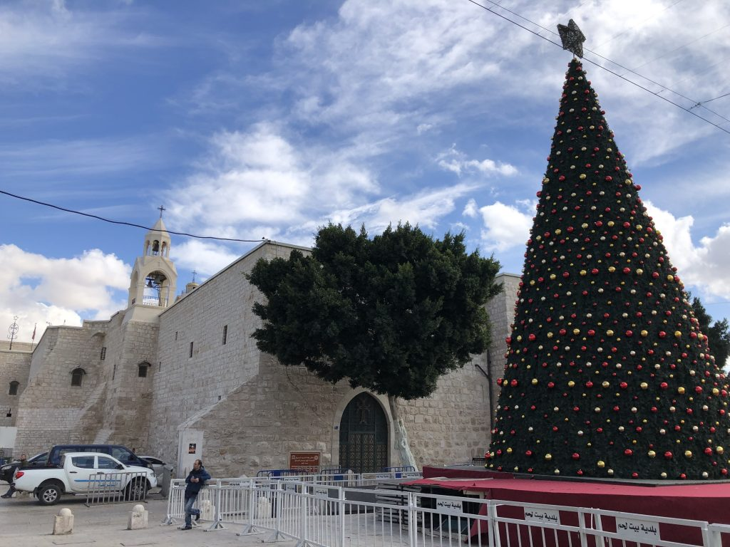 Diary, 23/12/18 – Holy Land and Christmas
